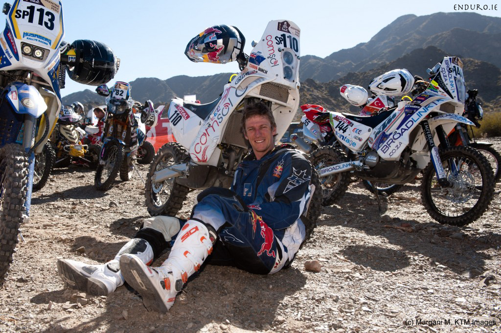 chris birch dakar rally