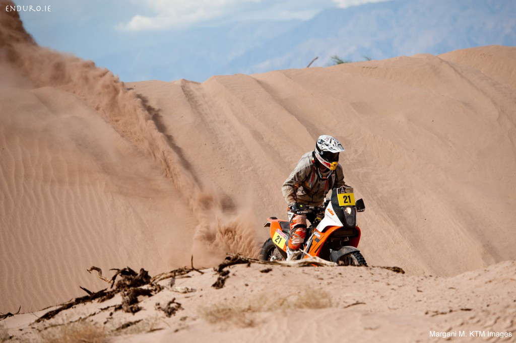 johnny aubert dakar rally