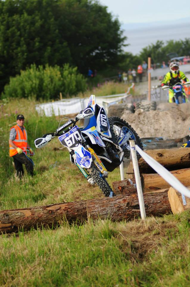 "Festival ""Knight""of speed at Glenarm Endurocross"
