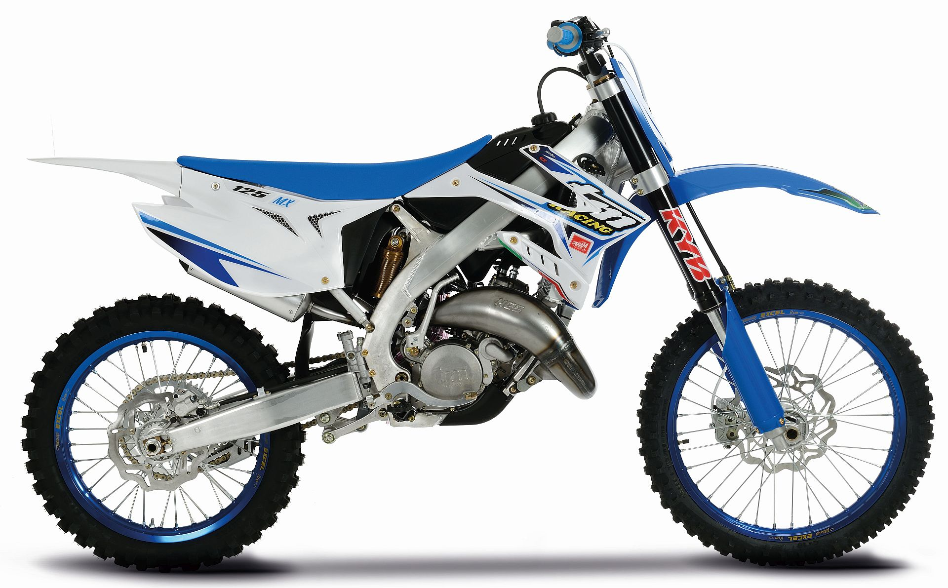 Small Kawasaki Dirt Bike