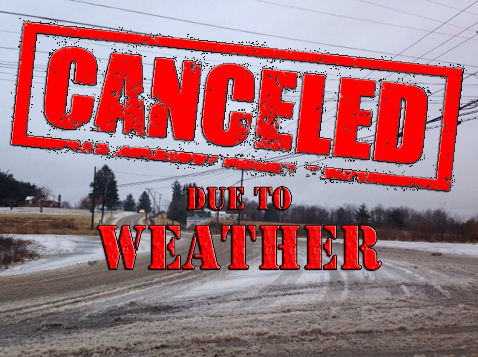 Winter Series Event on 22/02/2015 has been canceled !!!!